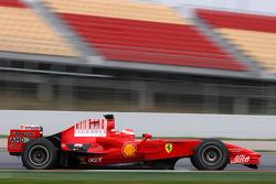 Michael Schumacher, piloto de pruebas, Scuderia Ferrari.