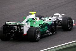 Rubens Barrichello, Honda Racing F1 Team, RA108 avec le nouvel aileron radical