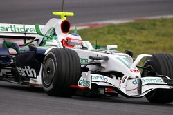 Rubens Barrichello, Honda Racing F1 Team, RA108 met radicale voorvleugel