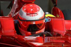 Michael Schumacher, piloto de pruebas, Scuderia Ferrari