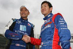 Roger Yasukawa and Hideki Mutoh
