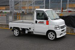 A service vehicle