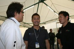 Honda Welcome Party: Roger Yasukawa and Hideki Mutoh