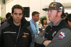 Honda Welcome Party: Vitor Meira and Buddy Rice
