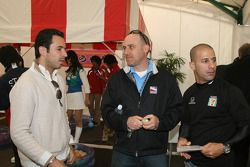 Honda Welcome Party: Helio Castroneves and Tony Kanaan