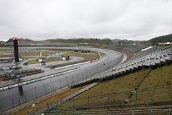 A rainy qualifying session at Twin Ring Motegi