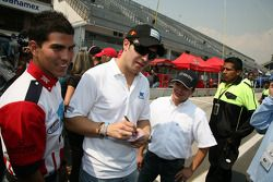Antonio Pérez, Memo Rojas and Jose Luis Ramirez