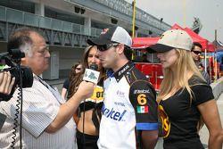 Ruben Pardo gives interviews