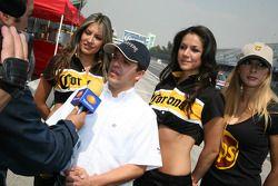 Jose Luis Ramirez gives interviews