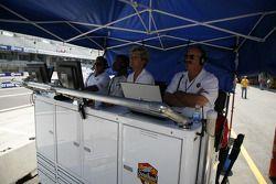 Aire des stands du Southard Motorsports