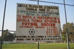 A playground in the Autodromo Hermanos Rodriguez area