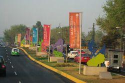 Mexico City street scene
