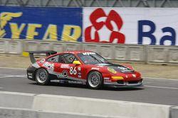 #86 Farnbacher Loles Porsche GT3 Cup: Leh Keen, Eric Lux
