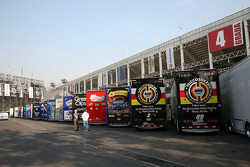 NASCAR Nationwide series haulers