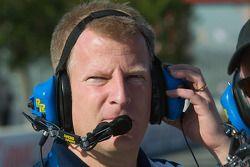 Walker Racing crewman