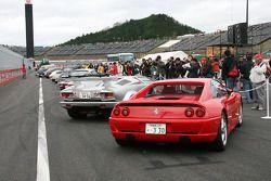 Parade des voitures classiques