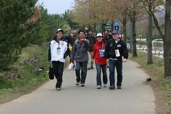 Fans arrive at Twin Ring Motegi