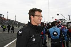 Esposo de Danica Patrick Paul celebra como Danica Patrick gana el Indy Japón 300