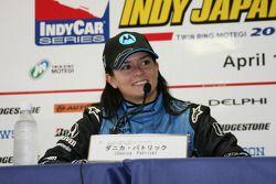 Post-race press conference: race winner Danica Patrick