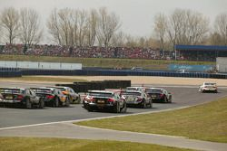 Start: Tom Kristensen, Audi Sport Team Abt, Audi A4 DTM makes a jumpstart