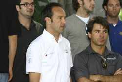 Marco Werner and Oriol Servia