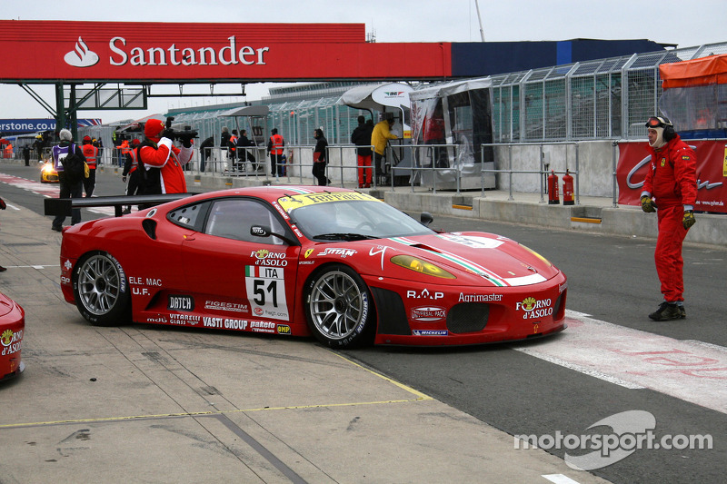 #51 AF Corse Ferrari 430 GT2: Thomas Biagi, Christian Montanari