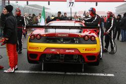 #77 BS Scuderia Italia Ferrari F430: Paolo Ruberti, Matteo Malucelli