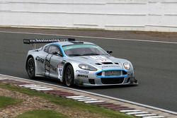 #10 Hexis Racing Aston Martin DBRS9: Jean-Claude Lagniez, Frédéric Mackoviecki