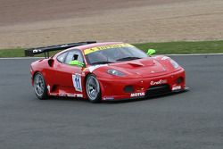 #11 JMB Racing Ferrari F430 GT3: Michael Petit, Bruce Lorgère-Roux