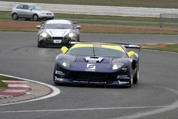 #19 Matech GT Racing Ford GT: Luca Pirri, Jurgen von Gartzen et #47 Tech 9 Motorsport Lamborghini Gallardo: Marius Ritskes, Dennis Retera