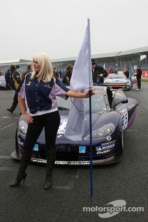 #25 Team Berlanga Ascari KZ1 GT3: Chris Dymond, Erik Zwart