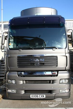 Force India F1 Team truck