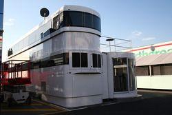 Super Aguri F1 motorhome
