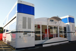 WilliamsF1 Team motorhome