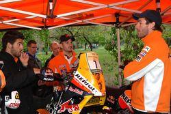 Marc Coma et Jordi Viladoms