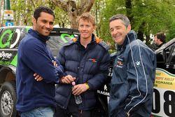 Nasser Al Attiyah, Guerlain Chicherit y Bruno Saby