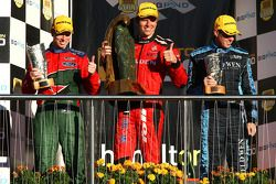 Steven Richards (Ford Performance Racing Ford Falcon BF), Garth Tander (Toll Holden Racing Team Comm