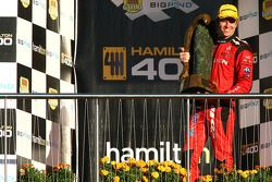 Garth Tander wins all three races and takes out the first Hamilton 400 (Toll Holden Racing Team Comm