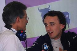 Dr. Mario Theissen, BMW Sauber F1 Team, BMW Motorsport Director with Robert Kubica, BMW Sauber F1 Team