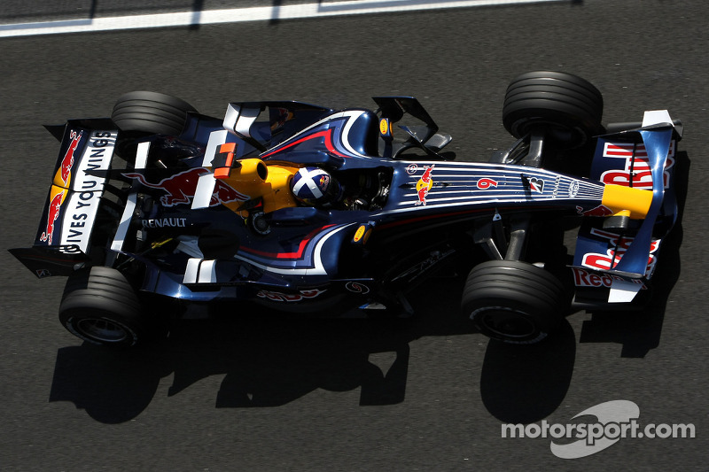2008 - Red Bull, David Coulthard