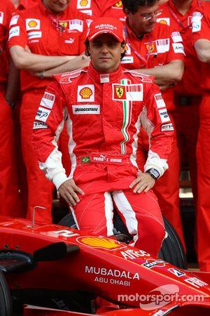 Ferrari photoshoot: Felipe Massa