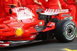 Ferrari photoshoot: Ferrari F2008 detail