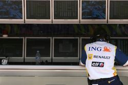 Renault F1 Team mühendis
