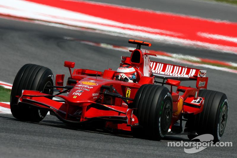 2008 Kimi Raikkonen, Scuderia Ferrari, F2008