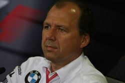 FIA press conference: Willy Rampf, BMW-Sauber, Technical Director