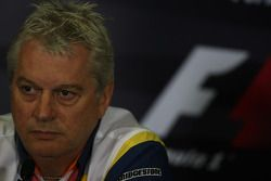 FIA press conference: Pat Symonds, Renault F1 Team, Executive Director of Engineering