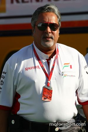 Vijay Mallya, Force India F1 Team, Owner ve Kingfisher CEO