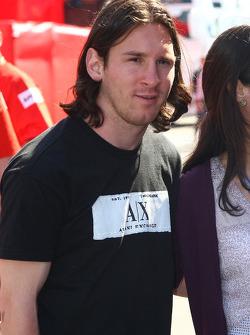 Lionel Messi jugador de fútbol del FC Barcelona y de la selección de Argentina