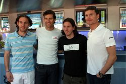 Gabriel Milito, FC Barcelona, Mark Webber, Red Bull Racing, Lionel Messi, FC Barcelona and Argentina