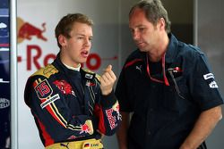 Sebastian Vettel, Scuderia Toro Rosso and Gerhard Berger, Scuderia Toro Rosso, 50% Team Co Owner